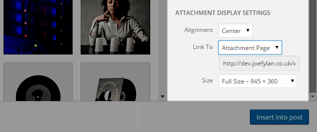 Media Library Link to Attachment Page